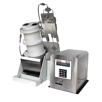 M8500 Ultra HP/HT Dynamic Sag Tester shown with M7500 Rheometer unit
